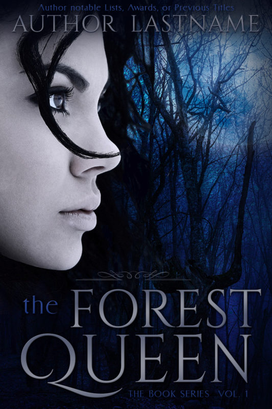 The Forest Queen - fantasy premade book cover for self-published authors by Artful Cover