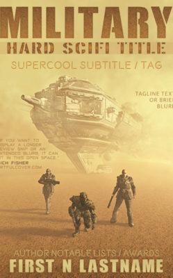Military Hard SciFi Title $199