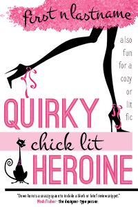 Quirky Chick Lit Heroine - an example of the Basic custom book cover design package for self-publishing indie authors by Artful Cover