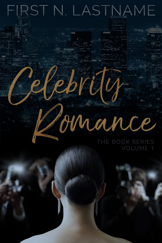 Celebrity Romance - romance premade book cover for self-published authors by Artful Cover