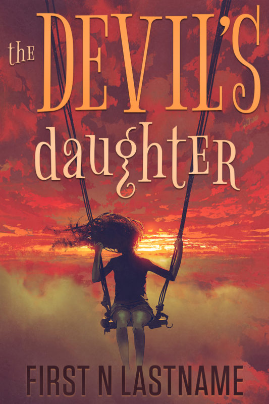 The Devil's Daughter - YA fantasy premade book cover for self-published authors by Artful Cover