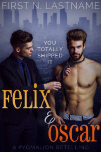 Felix & Oscar - an example of the Upgrade custom book cover design package for self-publishing indie authors by Artful Cover