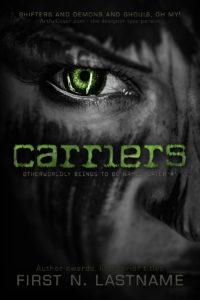 Carriers - an example of the Basic custom book cover design package for self-publishing indie authors by Artful Cover