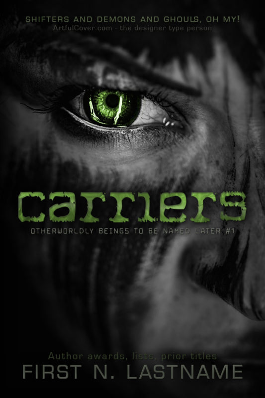 Carriers - horror premade book cover for self-published authors by Artful Cover