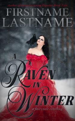 A Raven in Winter $149